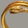 Goldener Armreif