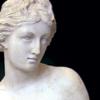 Marmorstatuette einer Nymphe